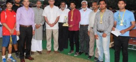 AMU's VM HallLawn Tennis team won the Inter Hall Tennis Championship