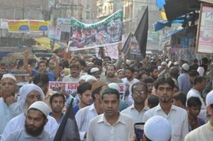 Delhi based social organization  holds a peaceful march to boycott  Israeli and Jewish Products