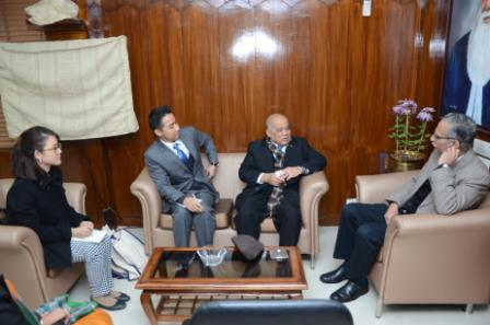 Thailand Ambassador to India  Visits AMU