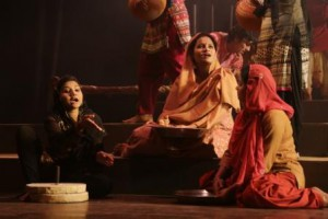 Acharya Narender Dev College hosted their annual theatre production at sri ram centre