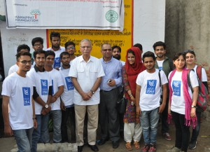 AMU Vice Chancellor visits Mirzapur Village with Alumnus from Oman