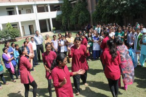 Rising with each step forward – JAGRITI – Women Development Cell ,Bharati College,DU