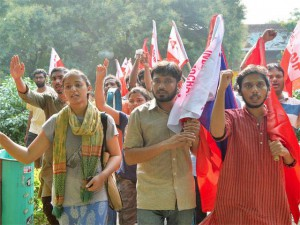 IN SOLIDARITY WITH COMMON STUDENTS OF JNU