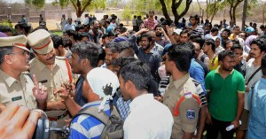 Attack at HCU vice-chancellor's lodge: 25 students, two faculty members get bail