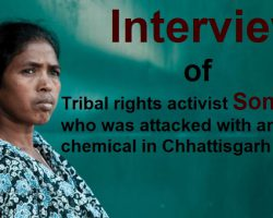 Tribal activist Soni Sori speaks to Aapka Times after recovering from an acidic chemical attack