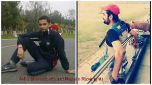 Two Jamia students to present Indian Universities Shooting Team for World University Championship