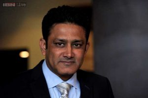 INDIA GETS KUMBLE AS HEAD COACH