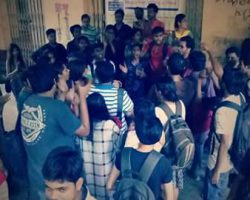 Jadavpur University  united against molestation