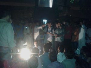 Jamia students on protest since last 12 hours against illegal raid attempt