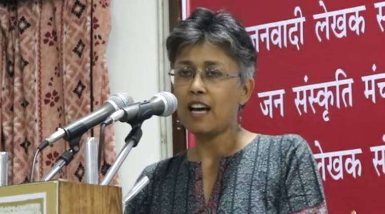 Prof. Nandini Sundar. (Source: YouTube screen grab)