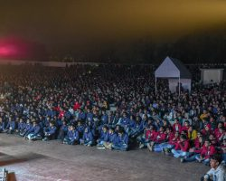 Kshitij, the annual techno-management fest of IIT Kharagpur is the largest of its genre in Asia