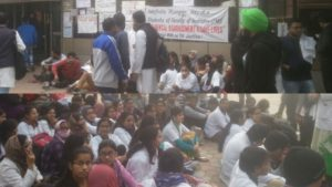 Jamia students go on Hunger Strike; Demands fulfilled