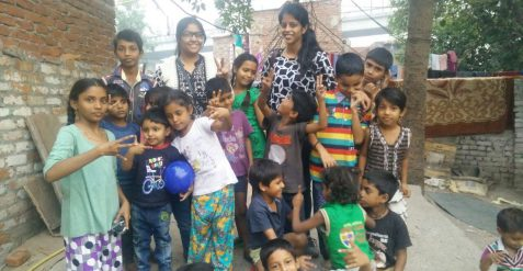 How these two Engineering Girls are working to spread happiness in Delhi
