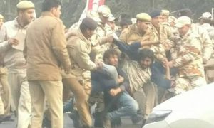 Students protesting for Rohith Vemula detained in Delhi