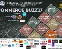 Motilal Nehru College is all set to organise it's annual fest COMMERCE BUZZ'17
