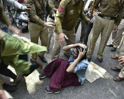 Three policemen suspended over Ramjas College violence, Crime Branch to probe violence