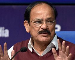 Venkaiah Naidu Visits to JNU Opposed