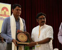 "Jamia faculty awarded with the First ""Kriti Srijanlok Samman"""