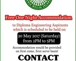 Jamia Alumni to provide free accommodation to Entrance Test aspirants