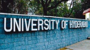 Show cause notice to student's Union President, University of Hyderabad for leading protest