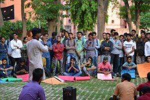 Students hold Poetry Procession against rising hatred at Jamia Millia Islamia