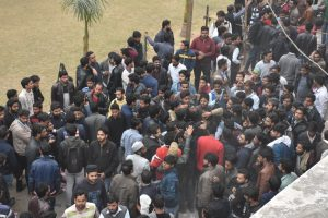 Students file nominations for AMUSU Office bearers and University Court