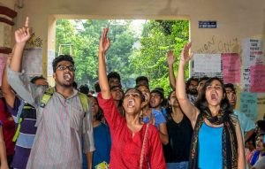 Gherao at Jadavpur University over admission procedure