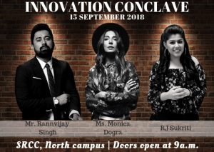SRCC Innovation Conclave'18 : With a distinguished line-up of eminent people; Register Here