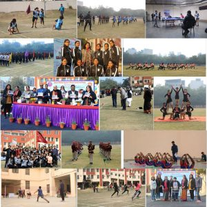 """Shaheed Rajguru College of Applied Sciences for Women organizes its second Sports Fest """"SPARDHAA"""""""