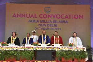 President, HRD Minister attend JMI Convocation, praise University's role in nation-building