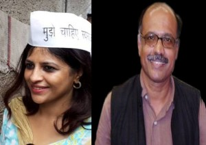 Shazia Ilmi and Captain Gopinath 'resign' from AAP.
