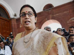 Smriti Irani's fake degree row : Court will pronounce the order in the case on October 18