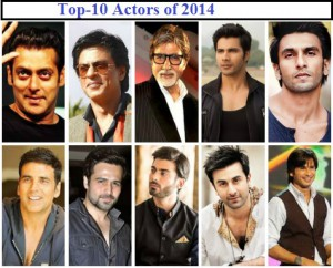 TOP 10 BOLLYWOOD ACTORS-2014