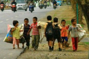 For need or for greed, a child shouldn't be working