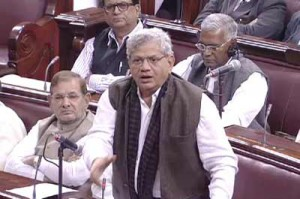 """""""Every single institution has been made on the Act of Parliament"""" -Sitaram Yechury."""
