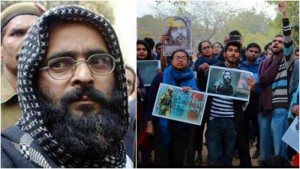 PRO AFZAL GURU PROTESTS: SEDITION INFLICTED ON JNU STUDENTS