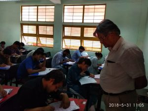 Jamia's Vice Chancellor Inspects University's Admission Test Centers