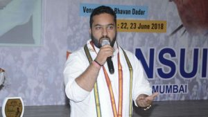 Fairoz Khan, the NSUI National President, accused of granting political posts to women in exchange of Sexual favours