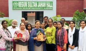 AMU puts Sparrow-Boxes to save disappearing chirpy, small birds