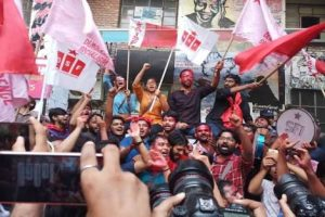 United Left wins all four central panel posts in JNU Students' Union polls