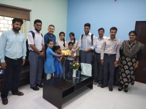 Jamia schools students donate Rs. 1 lakh for Kerala flood relief from their pocket money