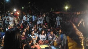 Campaign Against Sexist Rules followed by the Girls Hostels in Delhi University