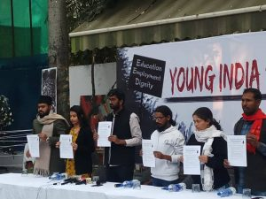 Young India Speaks, students united to hit  Capital's streets with their demands