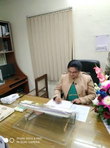 Prof. Indu Virendra takes charge of HoD in Hindi Department,Jamia