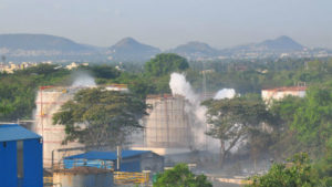 At least eight killed, hundreds taken ill as gas leaks from Vizag chemical plant