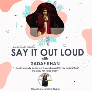 SayItOutLoud; a mental health initiative